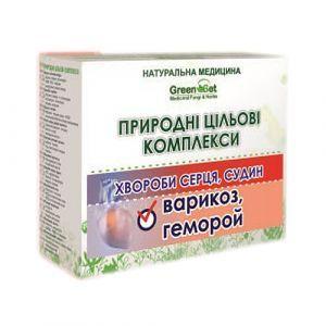 """Природный целевой комплекс """"Геморрой"""", GreenSet, растительные препараты, 4 шт"""