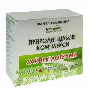 """Природный целевой комплекс """"Реальное похудение"""", GreenSet, растительные препараты, 4 шт"""