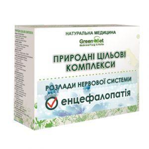 Энцефалопатия, дисциркуляторная энцефалопатия, GreenSet, природный целевой комплекс, курс 1, растительные препараты, 4 шт