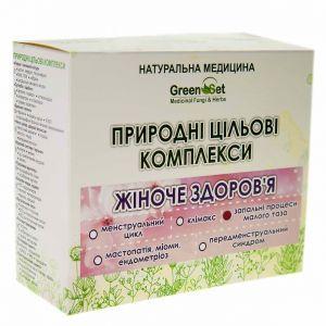 """Природный целевой комплекс """"Эндометрит (воспаление базального шара эндометрия)"""", GreenSet, растительные препараты, 4 шт"""