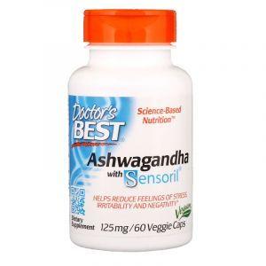 Ашваганда, Doctor's Best, 125 мг, 60 капсул