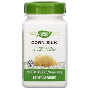 Кукурузные рыльца, Nature's Way, 400 мг, 100 кап.
