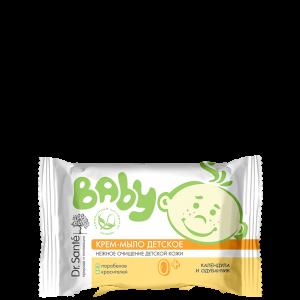 Крем-мыло детское, календула и одуванчик, Baby, Dr.Sante, очищение, смягчение, 90 г