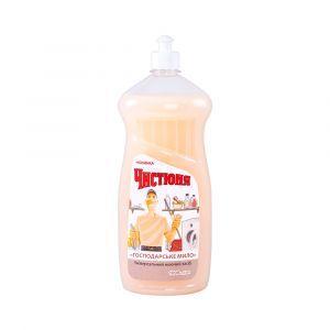 """Универсальное моющее средство """"Хозяйственное мыло"""", Чистюня, 1 л"""