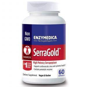 Серрапептаза для сердца, Enzymedica, 60 кап.
