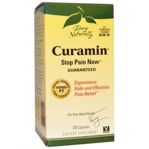 Курамин для обезболивания Curamin, EuroPharma, 120 капсул