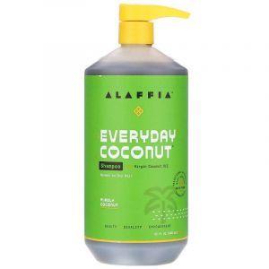 Увлажняющий шампунь, Shampoo, Everyday Coconut, чистый кокос, для нормальных и сухих волос, 950 мл