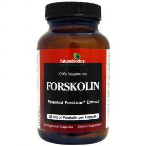 Форсколин, FutureBiotics, 25 мг, 60 капсул