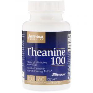 L-Теанин, Jarrow Formulas, 100 мг, 60 капсул