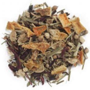 Лимонно-имбирный чай, Lemon Ginger Tea, Frontier Natural Products, 453 г