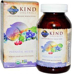 Витамины для беременных, Garden of Life, 180табл