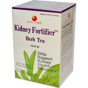 Травяной чай для укрепления почек, Kidney Fortifier, Health King, 20 чайных пакетов, 34 г