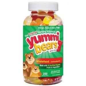 Витамины для детей, Hero Nutritional, Мишки, 200шт