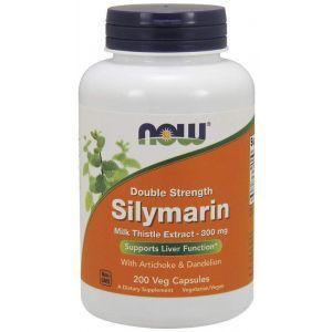 Расторопша, силимарин (Silymarin), Now Foods, 300 мг, 200 капс