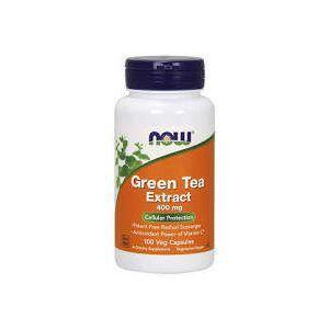 Экстракт зеленого чая, EGCg (Green Tea), Now Foods, 400 мг, 100 кап