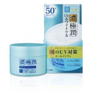 Солнцезащитный гиалуроновый гель для лица, Koi-Gokujyun UV White Gel SPF50+ PA++++, HadaLabo, 90 г