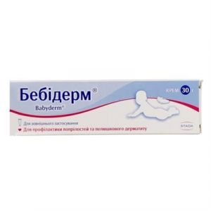 Бебидерм крем, Наброс Фарма Пвт. Лтд., туба, 30 гр