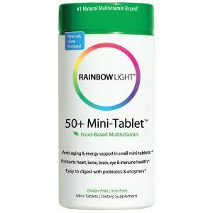 Мультивитамины 50+, Rainbow Light, 90 мини-табле