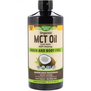 Кокосовое масло MCT, MCT Oil Coconut, Nature's Way, 887 мл