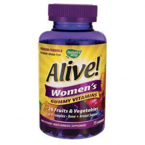 Витамины для женщин, Nature's Way, 75 желейных таблеток