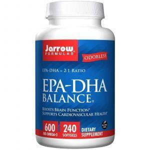 Рыбий жир баланс, Jarrow Formulas, 240 капсул