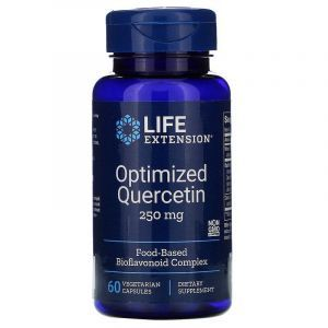 Кверцетин (Optimized Quercetin), Life Extension, 250 мг, 60 капс