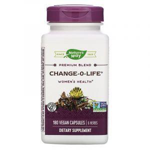 Клопогон семь трав, Change-O-Life 7 Herb, Nature's Way, 440 мг, 180 капсул