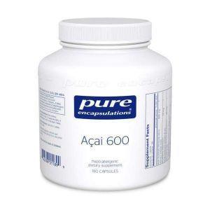 Асаи 600, Açai 600, Pure Encapsulations, 180 капсул