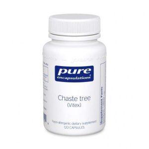 Витекс священный, Chaste Tree (Vitex), Pure Encapsulations, 60 капсул