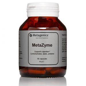 Растительные ферменты для пищеварения, Metazyme, Metagenics, 90 таблеток