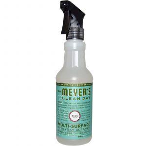 Средство для мытья различных поверхностей, Surface Everyday Cleaner, Mrs. Meyers Clean Day, 473 мл