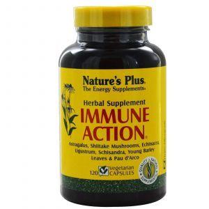 Иммуностимулятор (Immune Action), Nature's Plus, 120 капсул