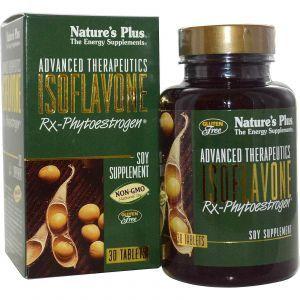 Соевые Изофлавоны, Nature's Plus, 30 таблето