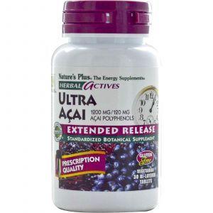 Асаи ультра, Nature's Plus, 1200 мг, 30 табле