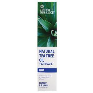 Зубная паста чайное дерево и мята, Desert Essence, 176 г.