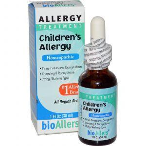 Детское противоаллергическое средство (Allergy Treatment), NatraBio, 30 мл.