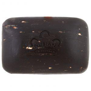 Черное африканское мыло, African Black Soap Bar, Nubian Heritage, 141