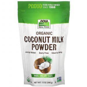 Органическое кокосовое молоко, Organic Coconut Milk, Nutricost, порошок, 454 г