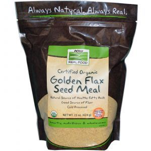 Золотые семена льна, Now Foods, 624 г