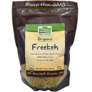 Органическая клетчатка (зародыши пшеницы), Now Foods, 454 г