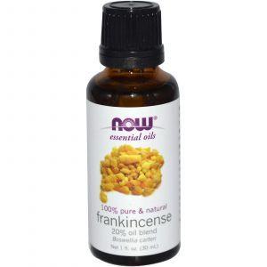 Эфирное масло ладана, Frankincense 20% Oil Blend, Now Foods, 30 мл