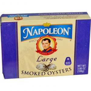 Копченые устрицы, Smoked Oysters, Napoleon Co., 106 г