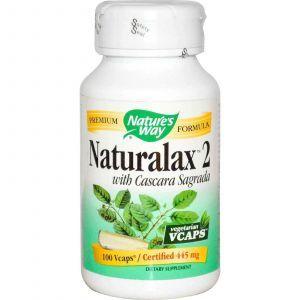 Каскара саграда, Nature's Way, 445 мг, 100 капс