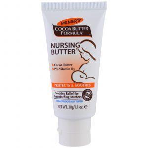 Масло какао для сосков, Nursing Butter, Palmer's, 30 г