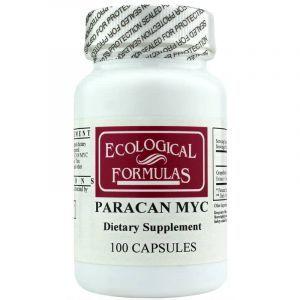 Экстракт семян грейпфрута, Paracan Myc Ecological Formulas, 100 капсул