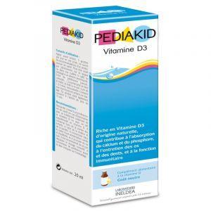 Витамин D3, для детей, Vitamin D3, Pediakid, 20 мл