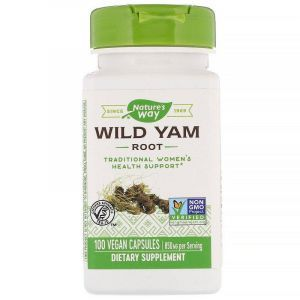 Дикий ямс, Nature's Way, 425 мг, 100 капсул