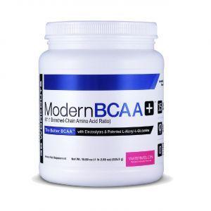 Аминокислоты ВСАА, Modern BCAA+, Modern Sports Nutrition, вкус арбуза, 535 г