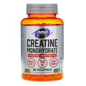 Креатин, Now Food, 750 мг, 120 капсул