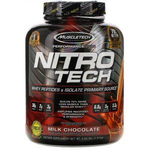 Сывороточный протеин, молочный шоколад, Muscletech, 1.80 кг.
